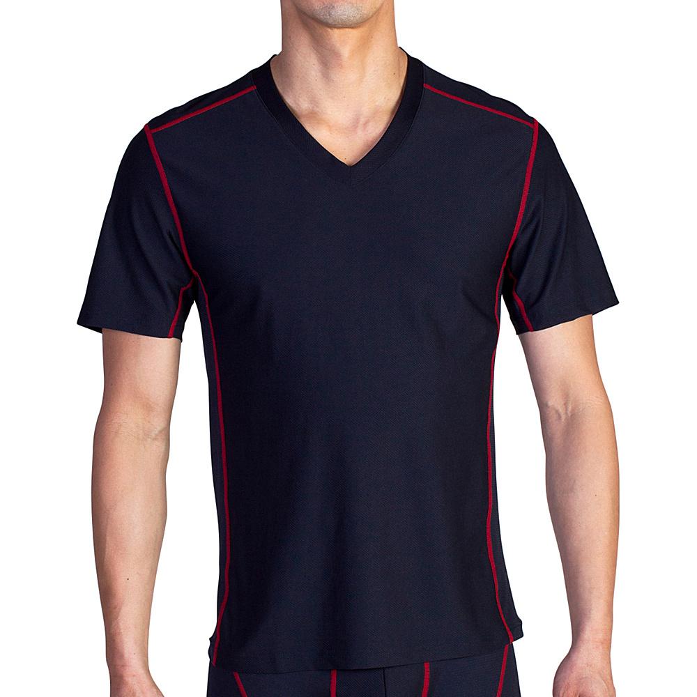 ExOfficio Give-N-Go Sport Mesh V XL - Black - ExOfficio Mens Apparel - Apparel & Footwear, Men's Apparel