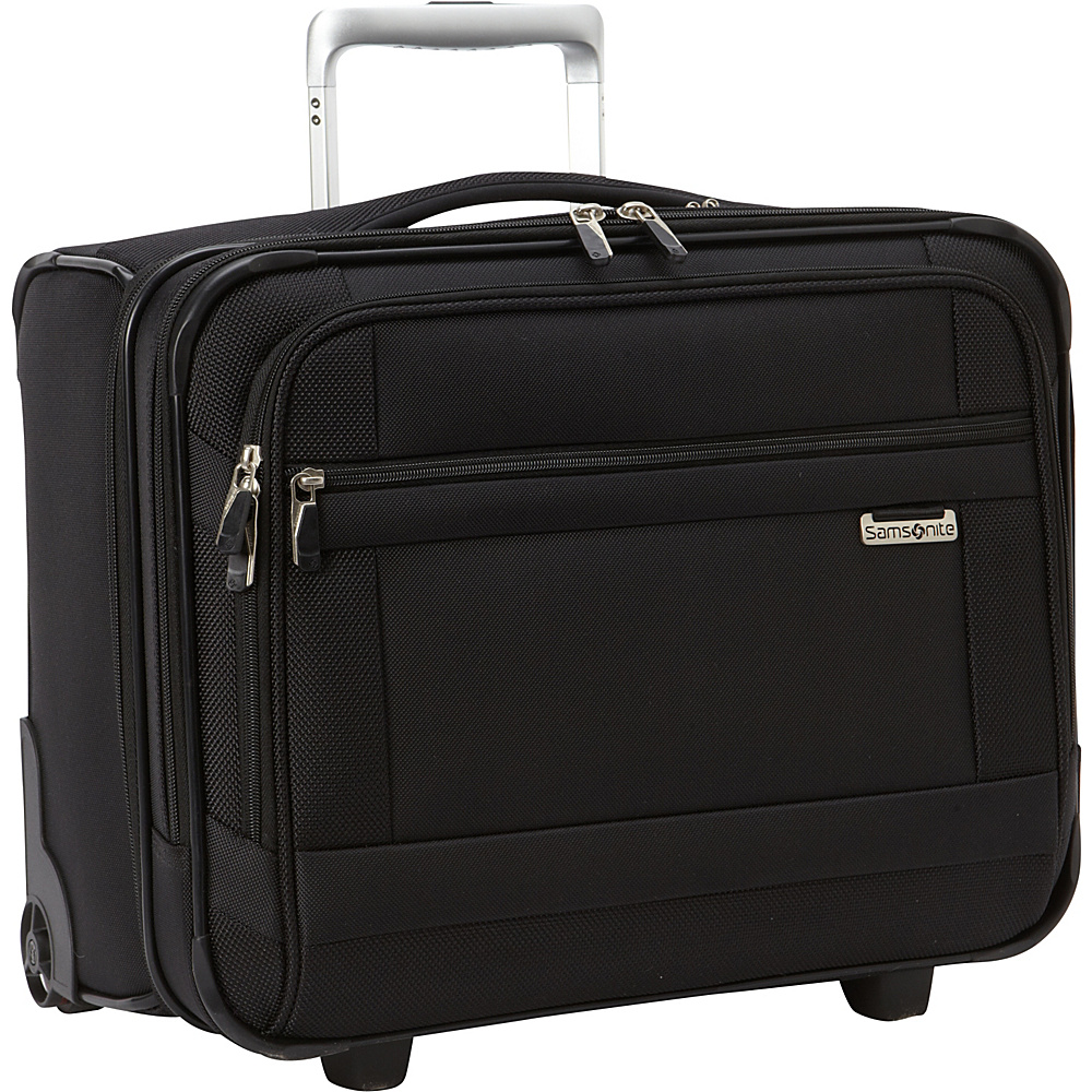 Samsonite SoLyte Wheeled Boarding Bag Black Samsonite Softside Carry On