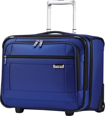 Samsonite SoLyte Wheeled Boarding Bag True Blue - Samsonite Softside Carry-On