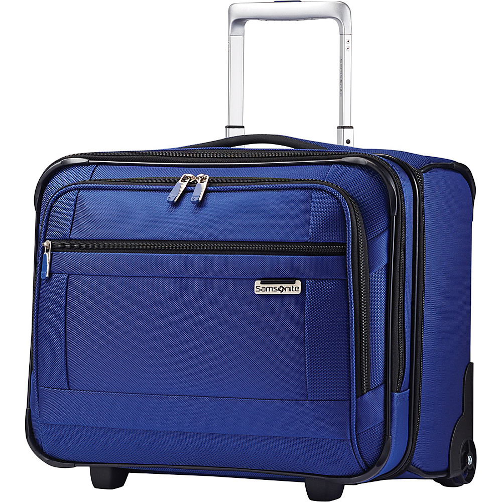 Samsonite SoLyte Wheeled Boarding Bag True Blue Samsonite Softside Carry On