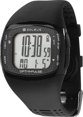 Soleus Pulse Rhythm BLE+HRM Watch Black/Black - Soleus Wearable Technology