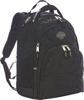 Harley Davidson by Athalon Steel Backpack Night Vision - Harley Davidson by Athalon Business & Laptop Backpacks