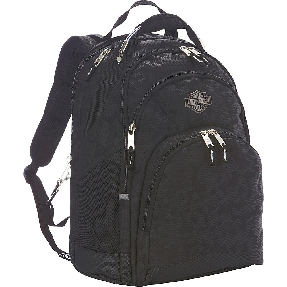 Harley Davidson by Athalon Steel Backpack Night Vision Harley Davidson by Athalon Business Laptop Backpacks