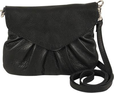 Day & Mood Elderflower Crossbody Black - Day & Mood Leather Handbags
