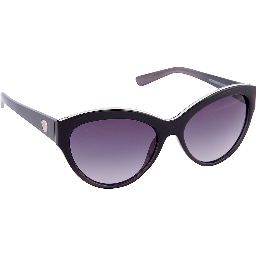 Vince Camuto Eyewear VC694 Sunglasses Black Grey Vince Camuto Eyewear Sunglasses