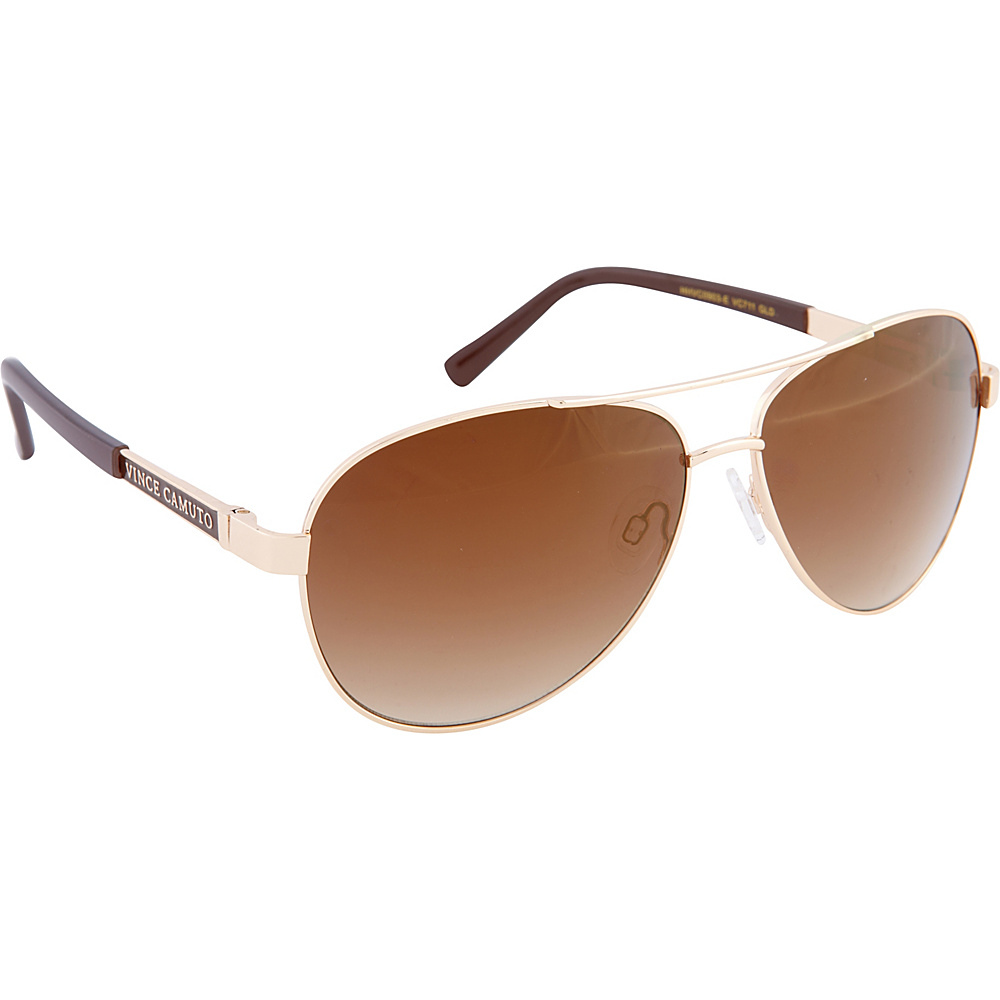 Vince Camuto Eyewear VC711 Sunglasses Gold Vince Camuto Eyewear Sunglasses