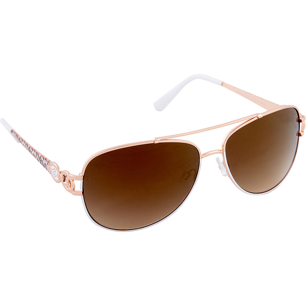 Rocawear Sunwear R567 Women's Sunglasses Rose Gold White - Rocawear Sunwear Sunglasses