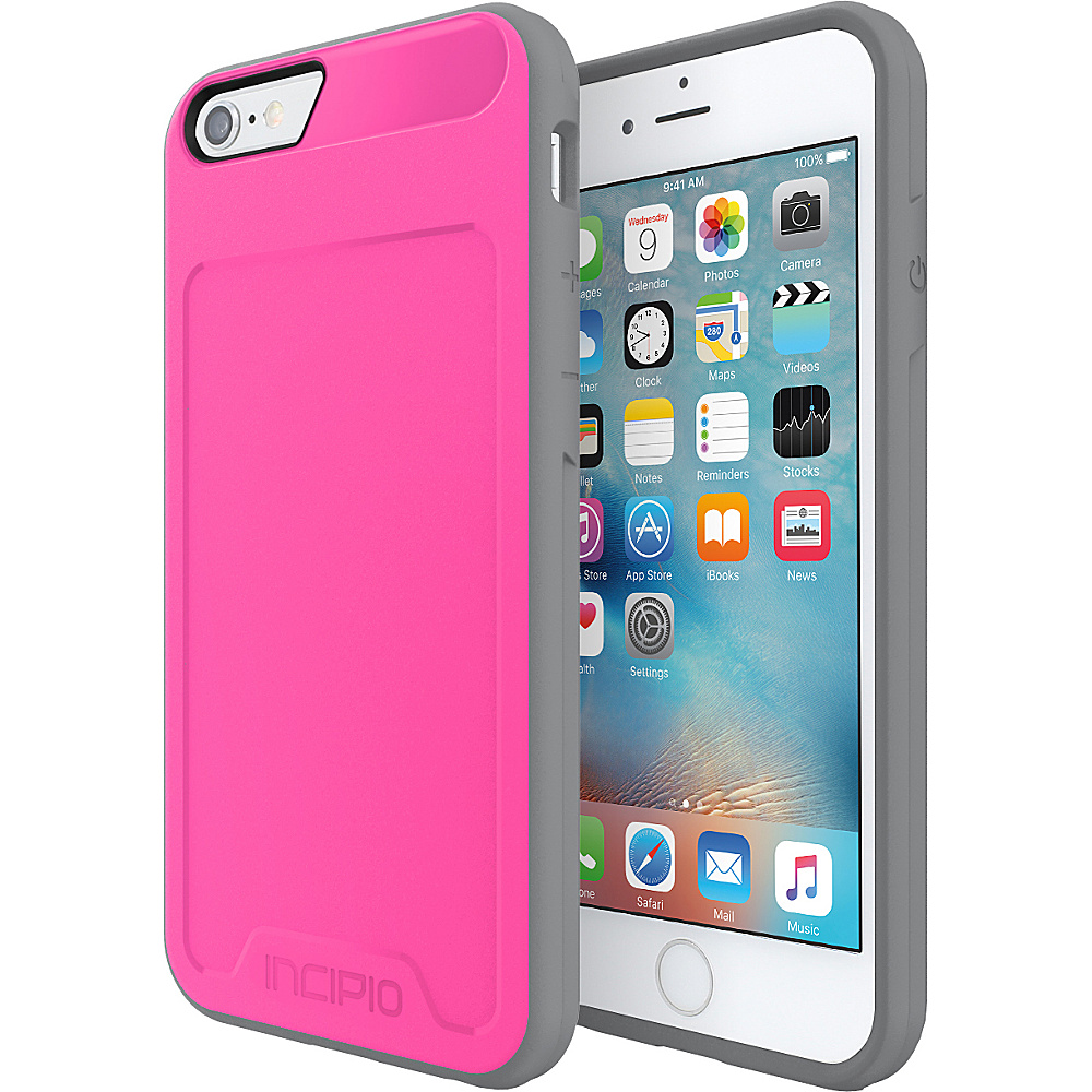 Incipio Performance Series Level 2 for iPhone 6/6s Pink/Gray - Incipio Electronic Cases - Technology, Electronic Cases