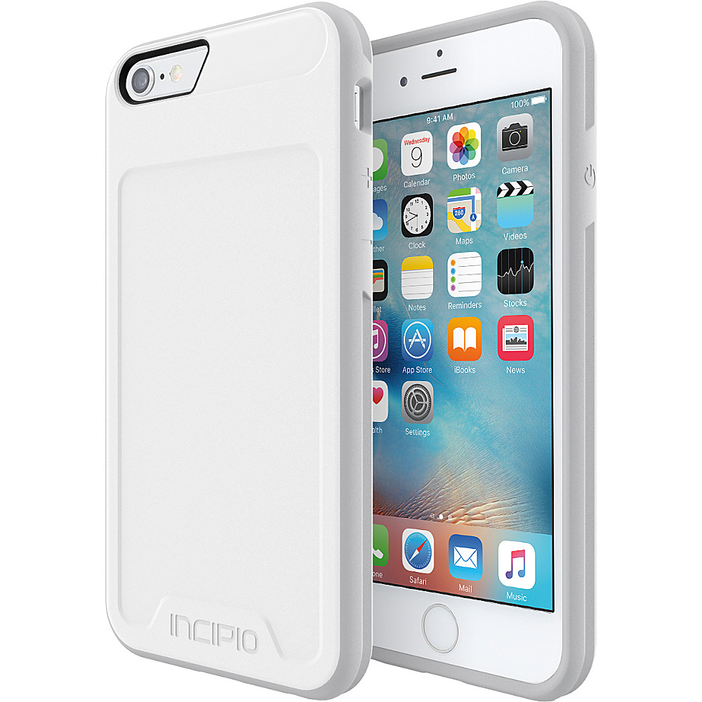 Incipio Performance Series Level 2 for iPhone 6/6s White/Light Gray - Incipio Electronic Cases - Technology, Electronic Cases