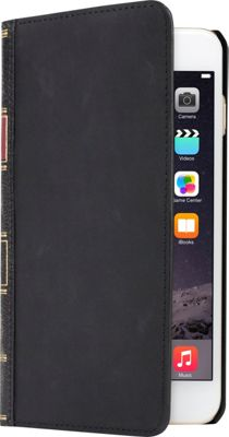 Twelve South BookBook Vintage Leather Case for iPhone 6/6s Plus Classic Black - Twelve South Electronic Cases
