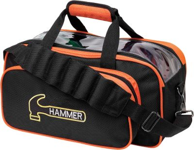 Hammer Double Tote Black/Orange - Hammer Bowling Bags