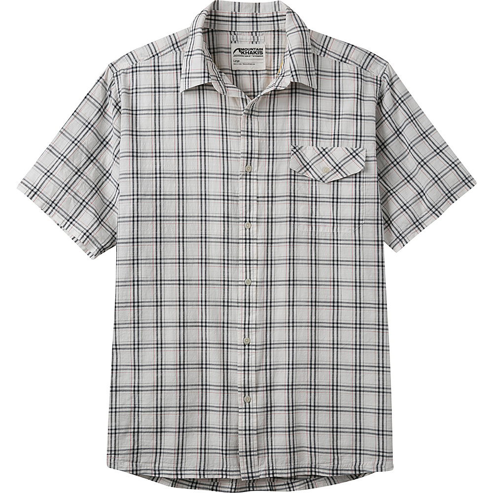 Mountain Khakis Shoreline Short Sleeve Shirt 2XL - Navy - Mountain Khakis Mens Apparel - Apparel & Footwear, Men's Apparel