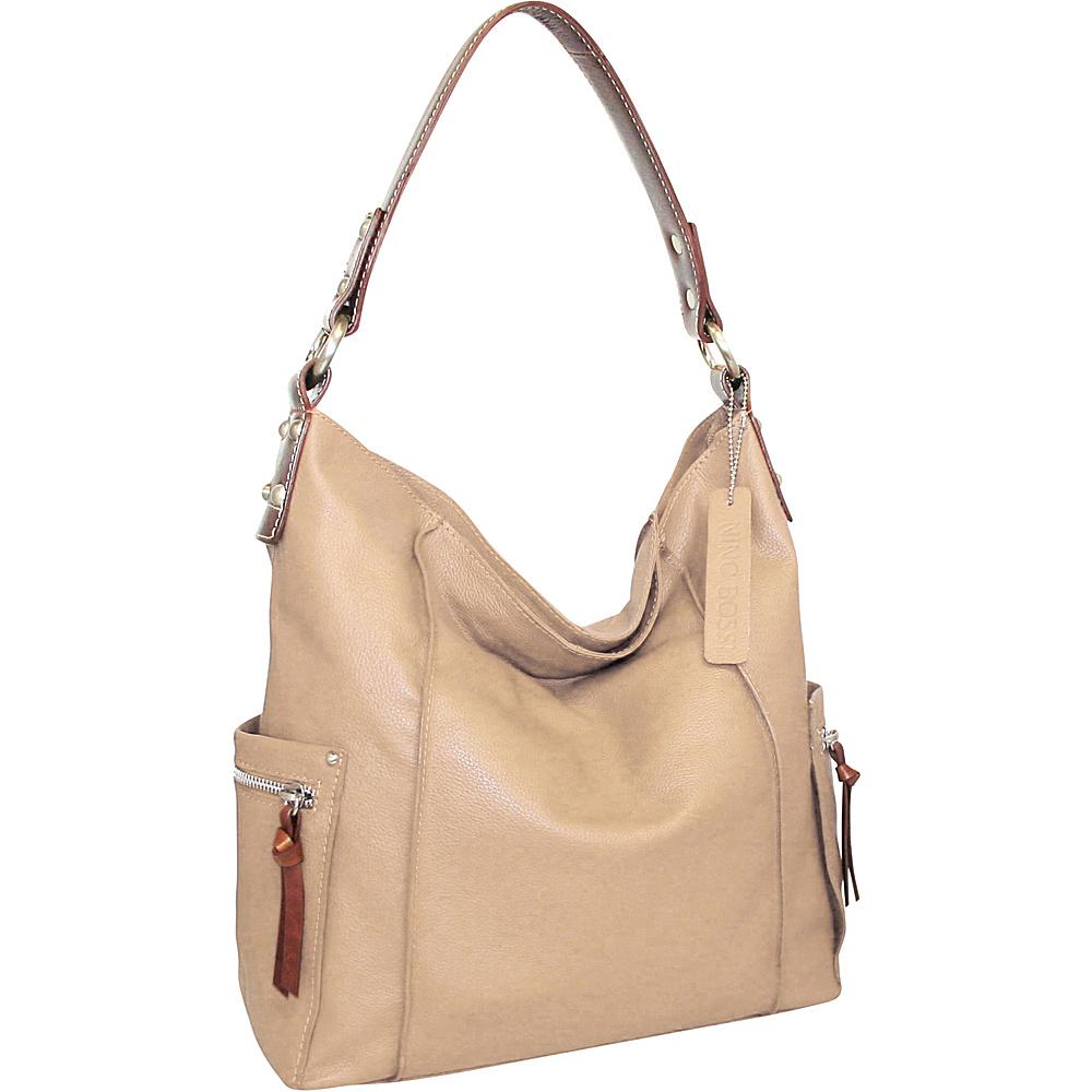 Nino Bossi Sweet Caroline Shoulder Bag Sand - Nino Bossi Leather Handbags - Handbags, Leather Handbags