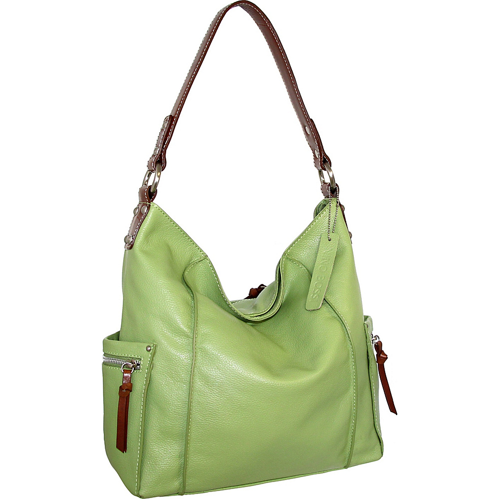 Nino Bossi Sweet Caroline Shoulder Bag Leaf - Nino Bossi Leather Handbags - Handbags, Leather Handbags