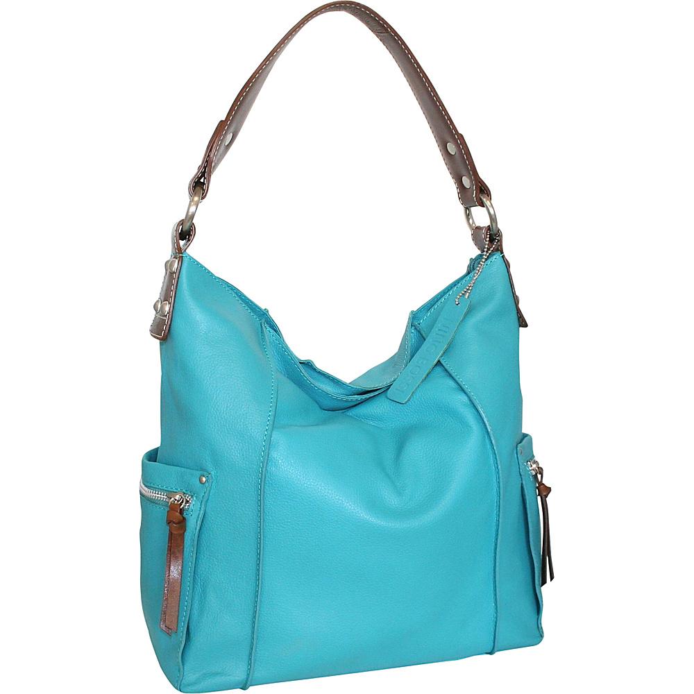 Nino Bossi Sweet Caroline Shoulder Bag Turquoise - Nino Bossi Leather Handbags - Handbags, Leather Handbags