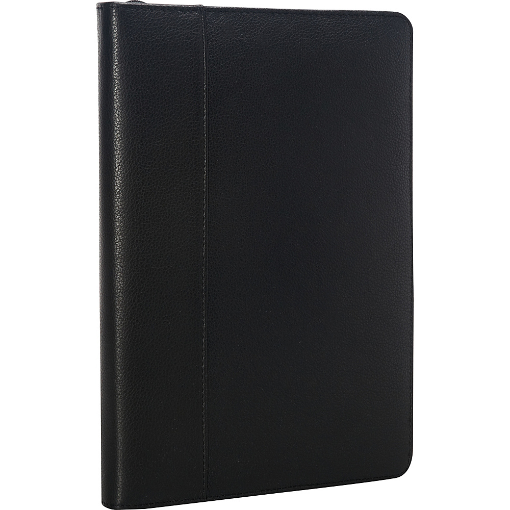 Goodhope Bags Multi Purpose Leather iPad Folio Black Goodhope Bags Electronic Cases