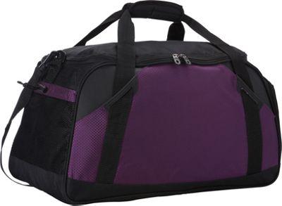 Goodhope Bags Flex Sports Duffel Purple - Goodhope Bags Gym Duffels
