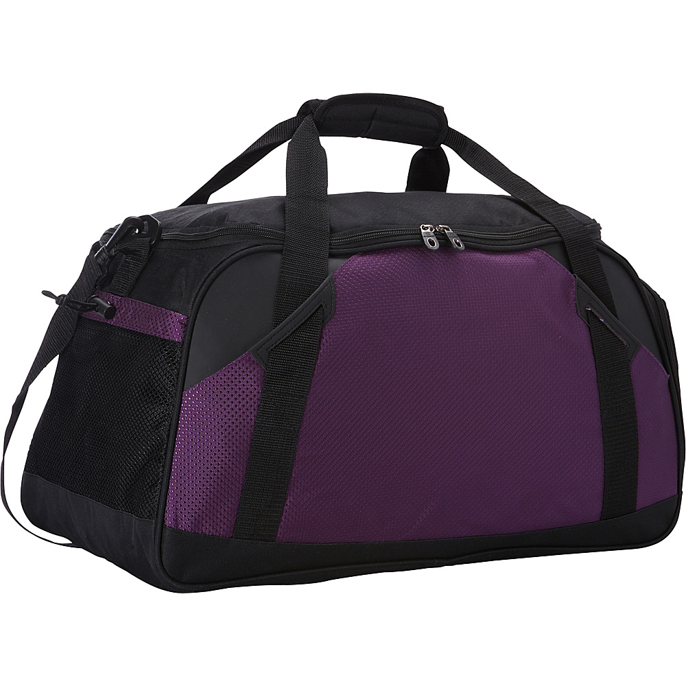 Goodhope Bags Flex Sports Duffel Purple Goodhope Bags Gym Duffels