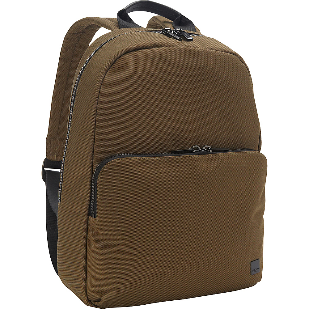 KNOMO London Hanson Backpack Deep Army Green KNOMO London Business Laptop Backpacks