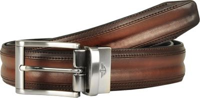 Dockers 32MM Feather Edge Reversible with Bombay Details 40 - Tan/Black - 32 - Dockers Other Fashion Accessories