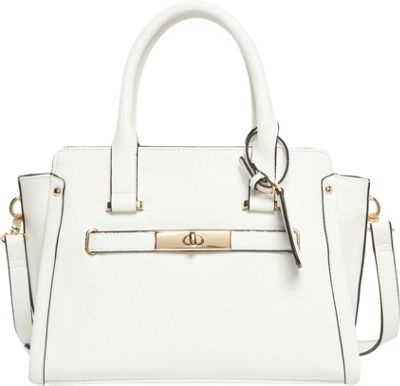 Hush Puppies Marley Satchel White - Hush Puppies Manmade Handbags