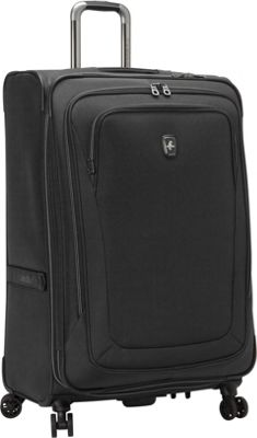Atlantic Unite 2 29 inch Expandable Spinner Black - Atlantic Softside Checked