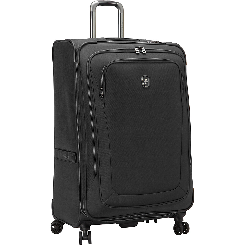 "Atlantic Unite 2 29"" Expandable Spinner Black - Atlantic Softside Checked"