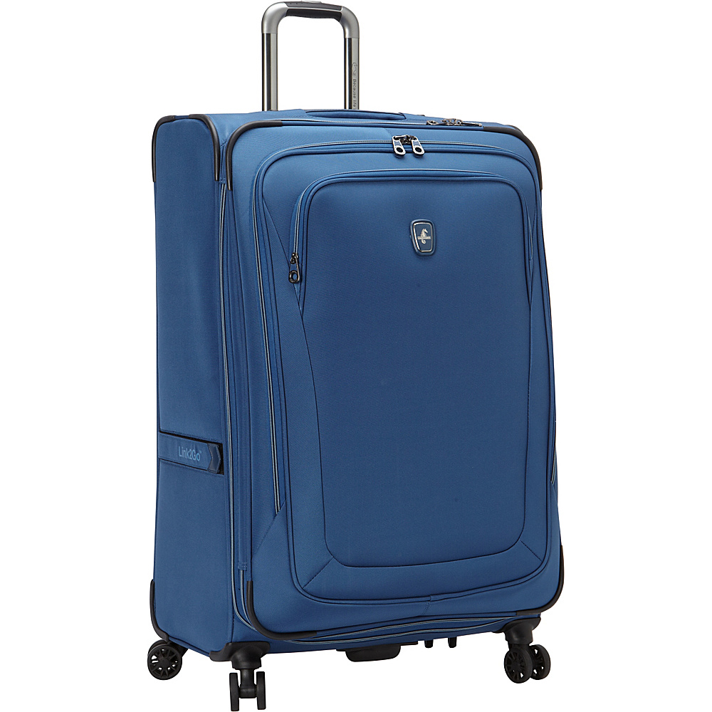 "Atlantic Unite 2 29"" Expandable Spinner Blue - Atlantic Softside Checked"