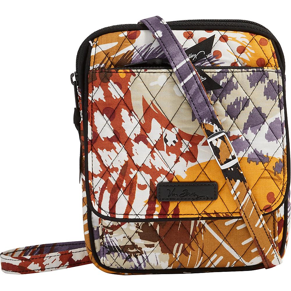 Vera Bradley Mini Hipster Painted Feathers Vera Bradley Fabric Handbags
