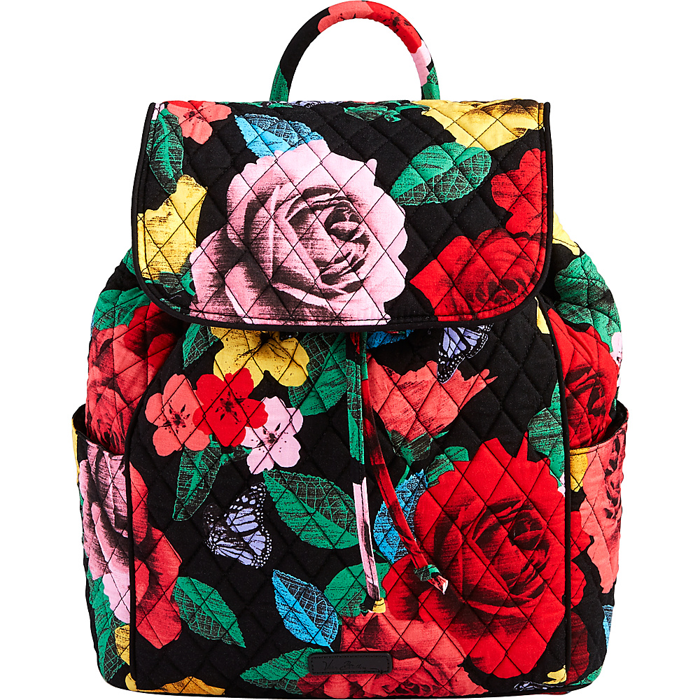 Vera Bradley Drawstring Backpack Havana Rose - Vera Bradley Fabric Handbags - Handbags, Fabric Handbags