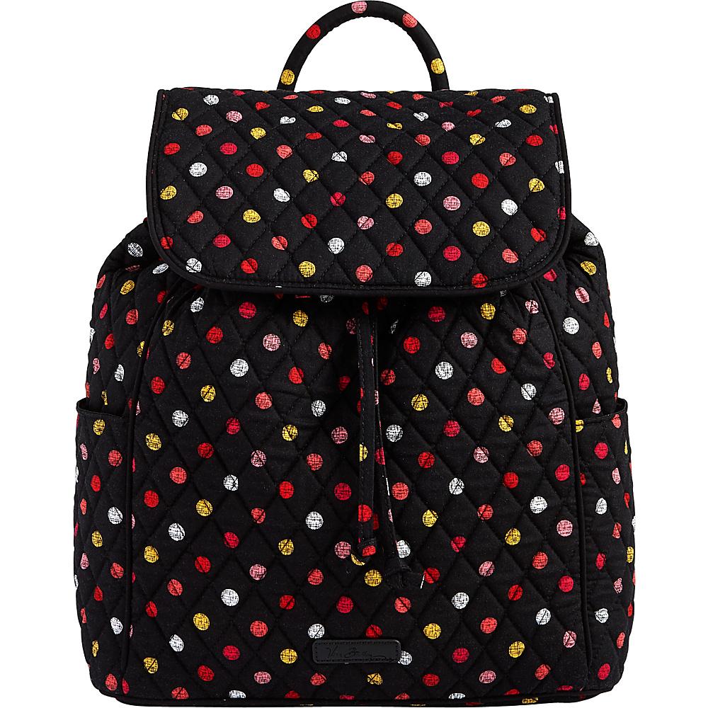 Vera Bradley Drawstring Backpack Havana Dots - Vera Bradley Fabric Handbags - Handbags, Fabric Handbags