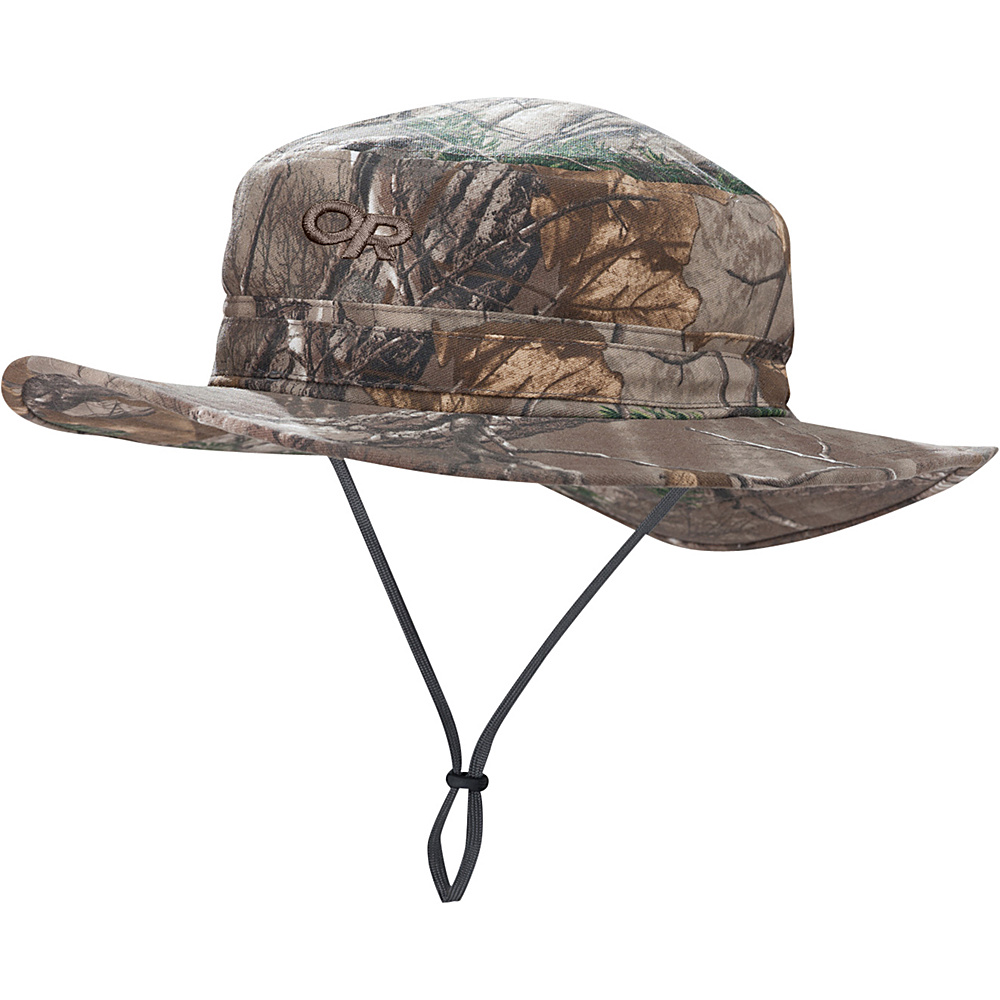 Outdoor Research Helios Sun Hat Camo L - RealTree Xtra – LG - Outdoor Research Hats/Gloves/Scarves - Fashion Accessories, Hats/Gloves/Scarves