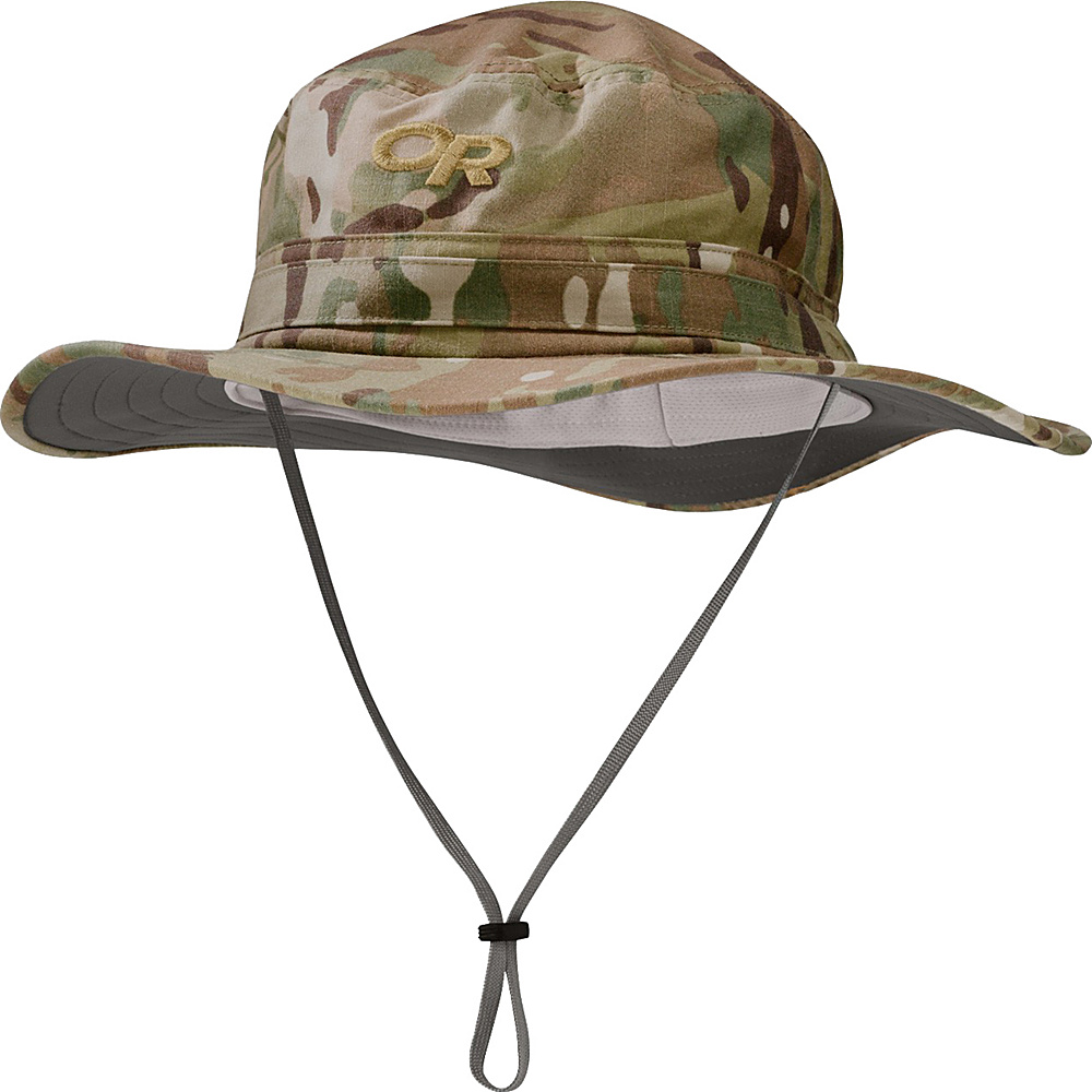 Outdoor Research Helios Sun Hat Camo L - Multicam - Large - Outdoor Research Hats/Gloves/Scarves - Fashion Accessories, Hats/Gloves/Scarves