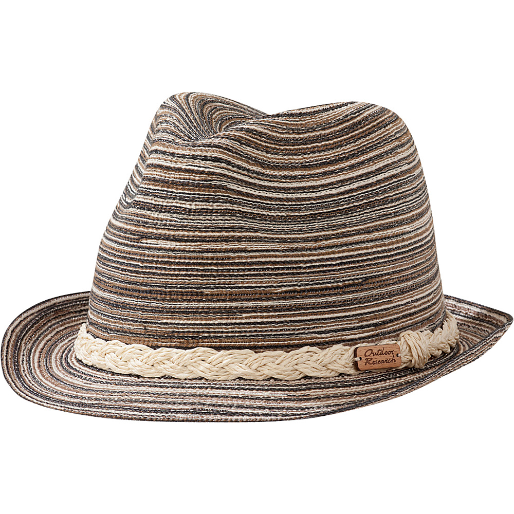 Outdoor Research Ixtapa Fedora One Size - Cafe – L/XL - Outdoor Research Hats/Gloves/Scarves - Fashion Accessories, Hats/Gloves/Scarves