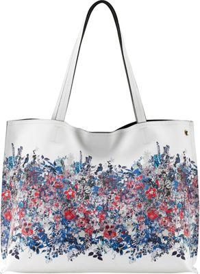 Elliott Lucca Jules Tote Denim Bouquet - Elliott Lucca Designer Handbags