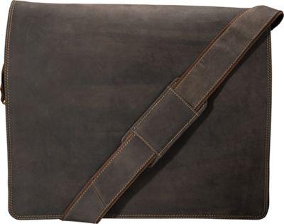 Visconti Harvard X-large Crossbody Laptop Messenger Bag Oil Brown - Visconti Messenger Bags