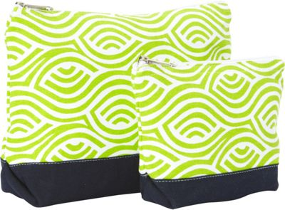 Needham Lane Kensington Cosmetic Bag Set Lime - Needham Lane Women's SLG Other