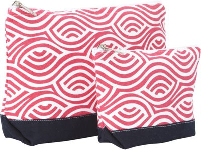 Needham Lane Kensington Cosmetic Bag Set Raspberry - Needham Lane Women's SLG Other