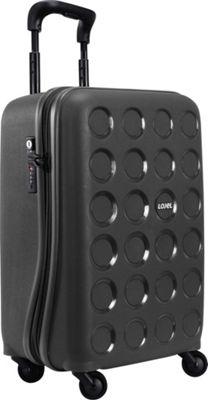 Lojel Vita Small Carry-On Upright Spinner Matte Black - Lojel Hardside Carry-On