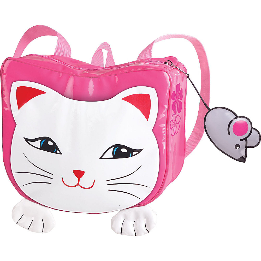 Kidorable Lucky Cat Backpack Pink - One Size - Kidorable Everyday Backpacks - Backpacks, Everyday Backpacks