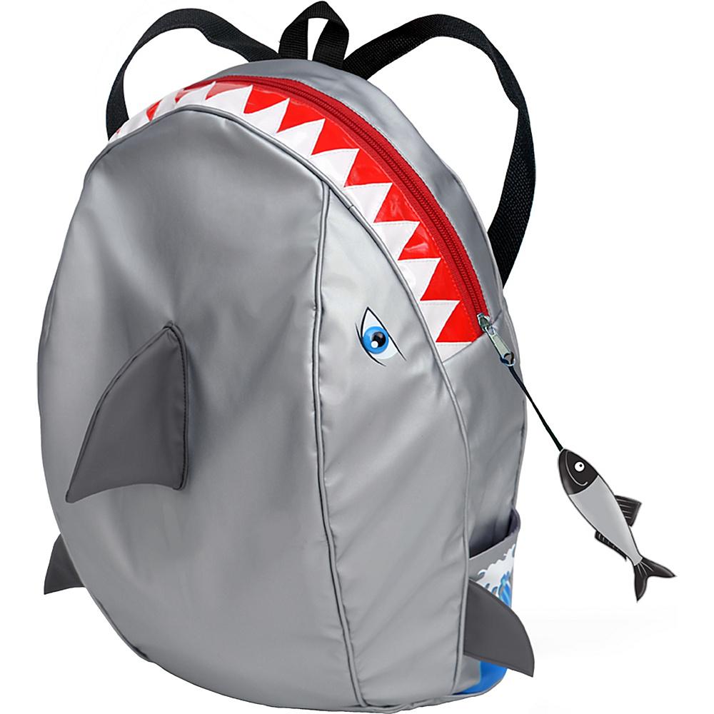 Kidorable Shark Backpack Grey - One Size - Kidorable Everyday Backpacks - Backpacks, Everyday Backpacks