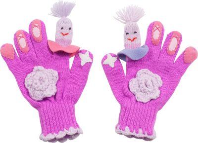 Kidorable Ballerina Knit Gloves L - Pink - Kidorable Hats/Gloves/Scarves