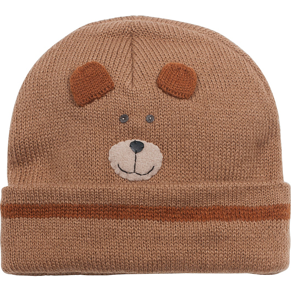 Kidorable Bear Knit Hat One Size - Brown - Kidorable Hats/Gloves/Scarves - Fashion Accessories, Hats/Gloves/Scarves