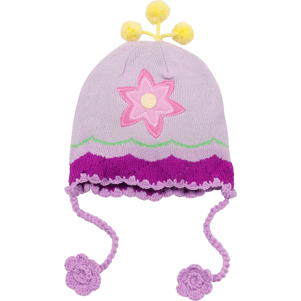 Kidorable Lotus Knit Hat Yellow One Size Kidorable Hats Gloves Scarves