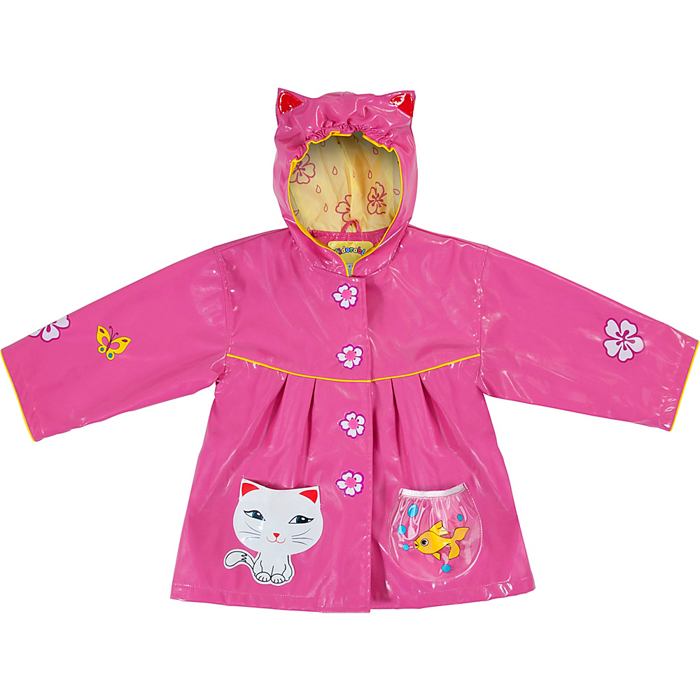 Kidorable Lucky Cat All-Weather Raincoat 2T - Pink - Kidorable Womens Apparel - Apparel & Footwear, Women's Apparel
