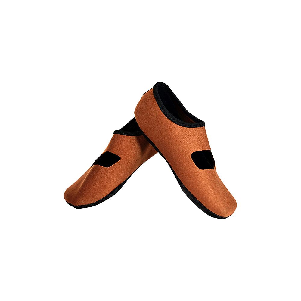 NuFoot Mary Jane Travel Slipper Brown Xlarge NuFoot Women s Footwear