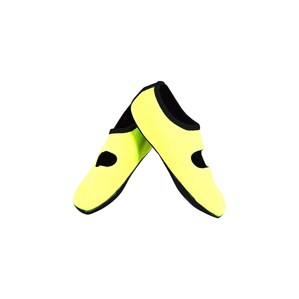 NuFoot Mary Jane Travel Slipper Yellow Medium NuFoot Women s Footwear