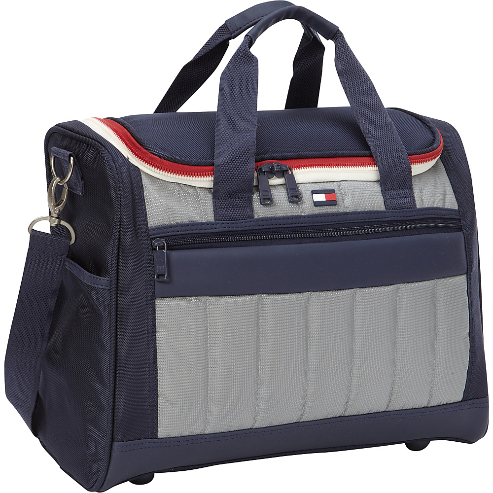 Tommy Hilfiger Luggage Classic Sport 17 Sport Duffle Navy Grey Tommy Hilfiger Luggage Rolling Duffels