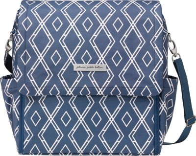 Petunia Pickle Bottom Boxy Backpack Indigo - Petunia Pickle Bottom Diaper Bags & Accessories