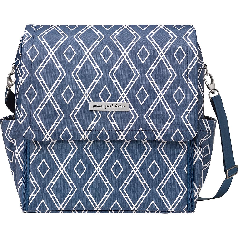 Petunia Pickle Bottom Boxy Backpack Indigo Petunia Pickle Bottom Diaper Bags Accessories